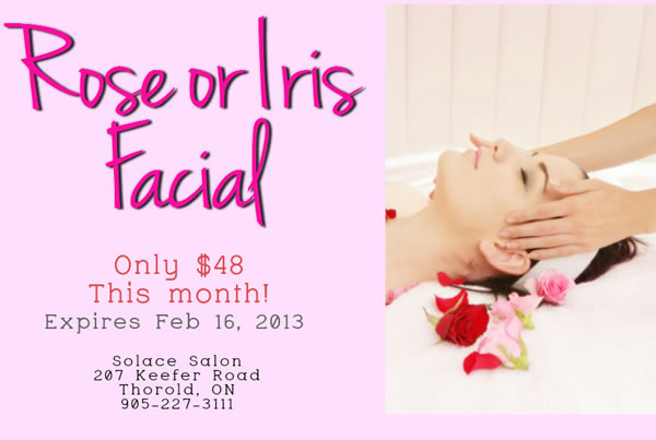 Rose or Iris Facial